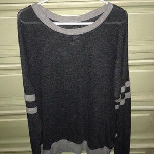 Aeropostale Tops - grey thin top/sweater